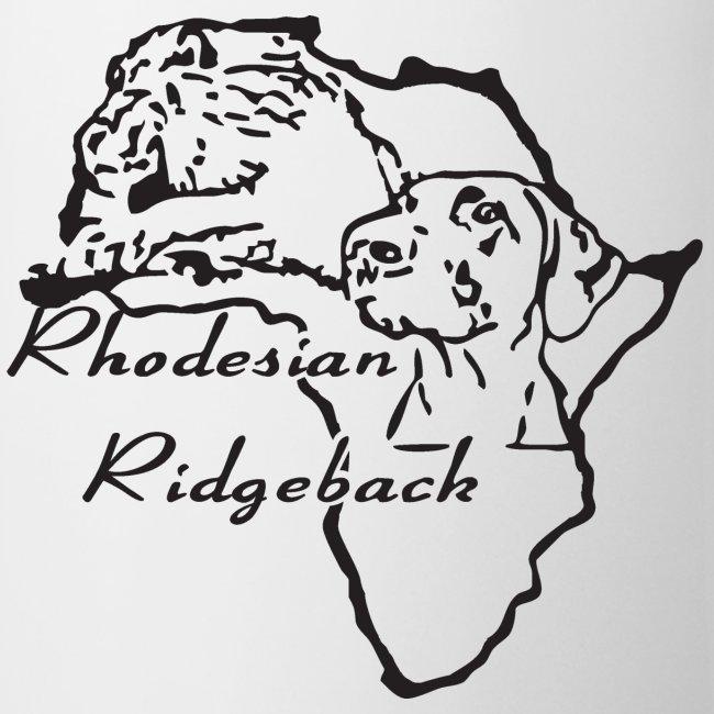 Weiß Rhodesian Ridgeback T-Shirts