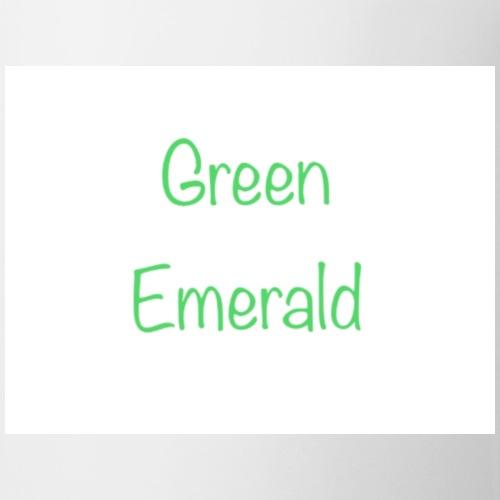 Green emerald - Mug