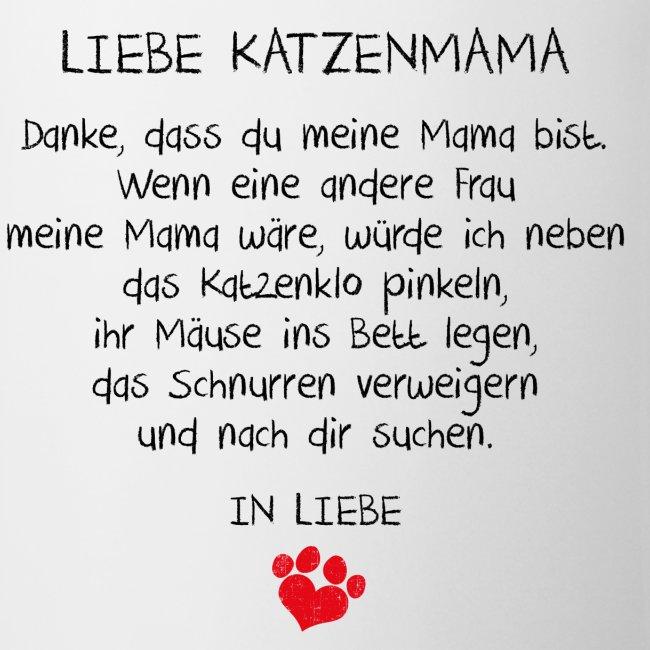 Vorschau: Liebe Katzenmama - Tasse