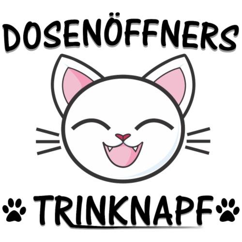 Dosenöffners Trinknapf Katze Geschenk - Tasse