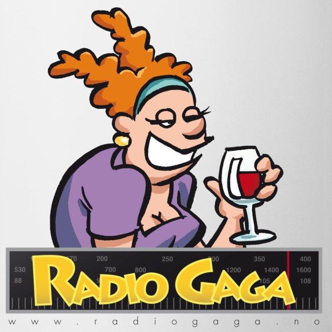 Radio Gaga kopp Brita