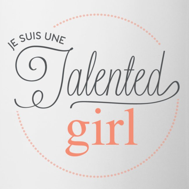logo je suis une talented girl Final png