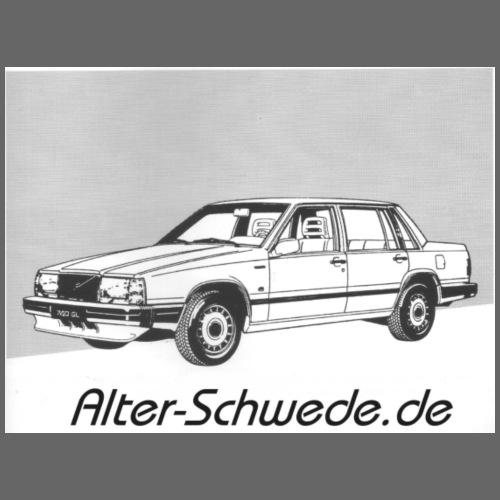744 Alter Schwede - Tasse