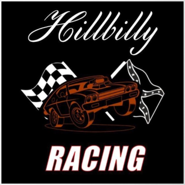 Hillbilly racing merchandise