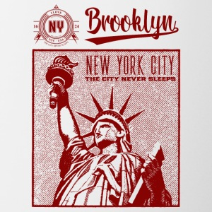 New York · Brooklyn - Kop/krus