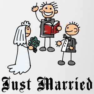 Funny Just Married - Mugg