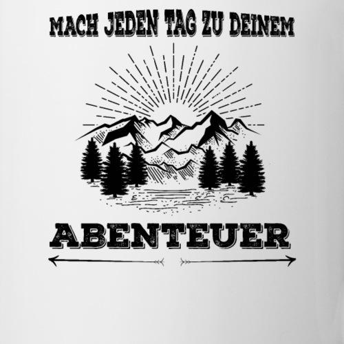 Jeder Tag Abenteuer - Tasse & mehr für Reisende