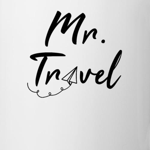 Mr. Travel Reise Design als Tasse, Geschenk & mehr
