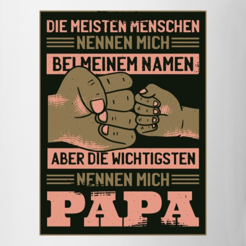 ...die wichtigsten Menschen nennen mich Papa! - Tasse