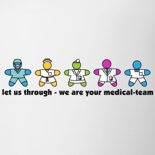 we are your medical-team - Tasse