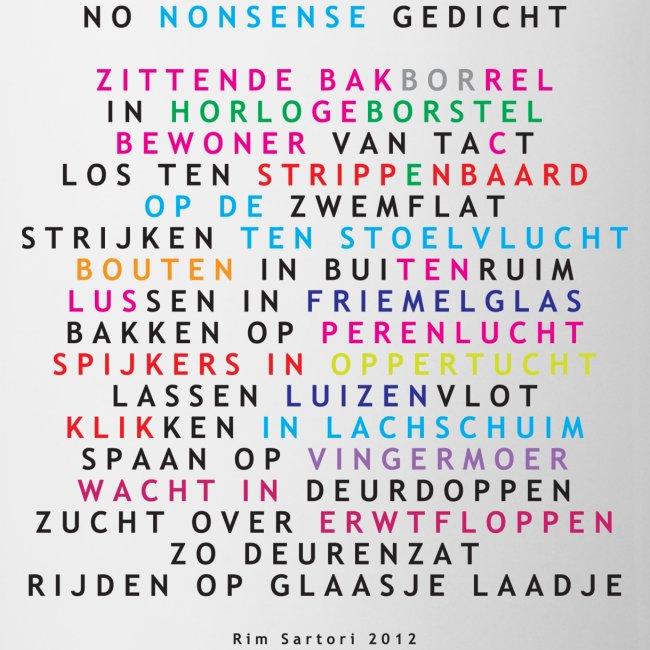 No Nonsense Gedicht Fh Mok