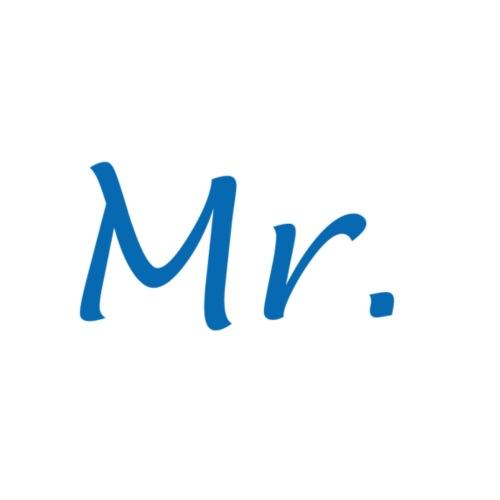Mister - Mug blanc
