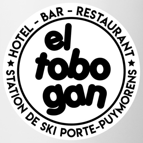 EL-TOBOGAN-MASQUE-FACEBOO - Mug blanc