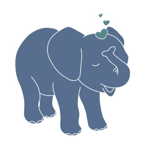 Little elephant - Tasse