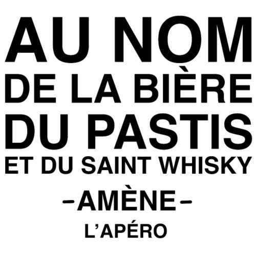 Au nom de la bière, du pastis et du simple whisky