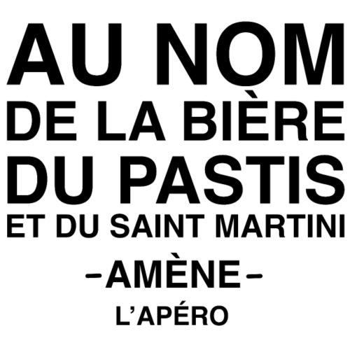 Au nom de la bière, du pastis et du saint Martini