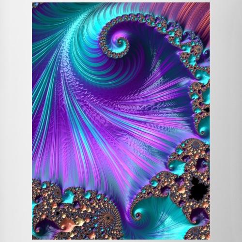 Fraktale Spirale - Tasse