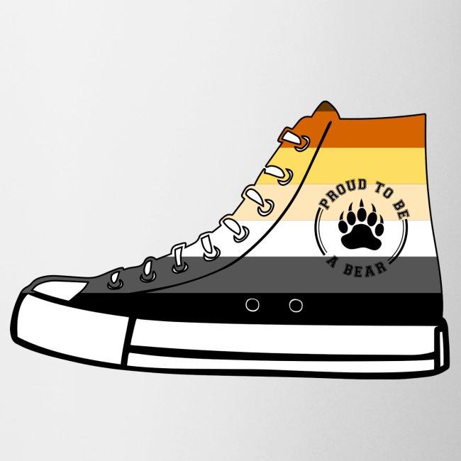 Bear Sneaker LGBT Gay Pride Fetish Queer CSD   Tasse