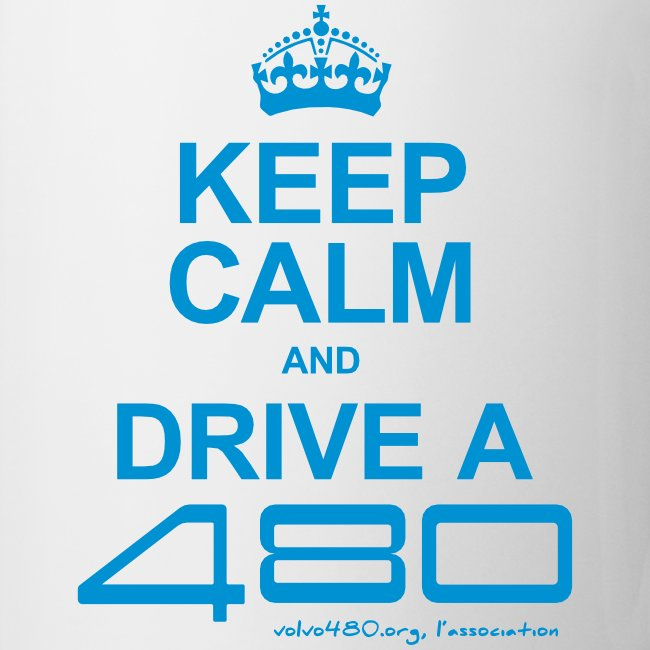Keep calm and drive a 480