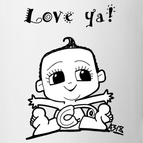 baby girl blackwhite - Mok