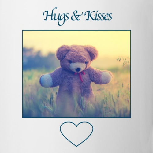 Hugs & Kisses: Phone Case - Mug