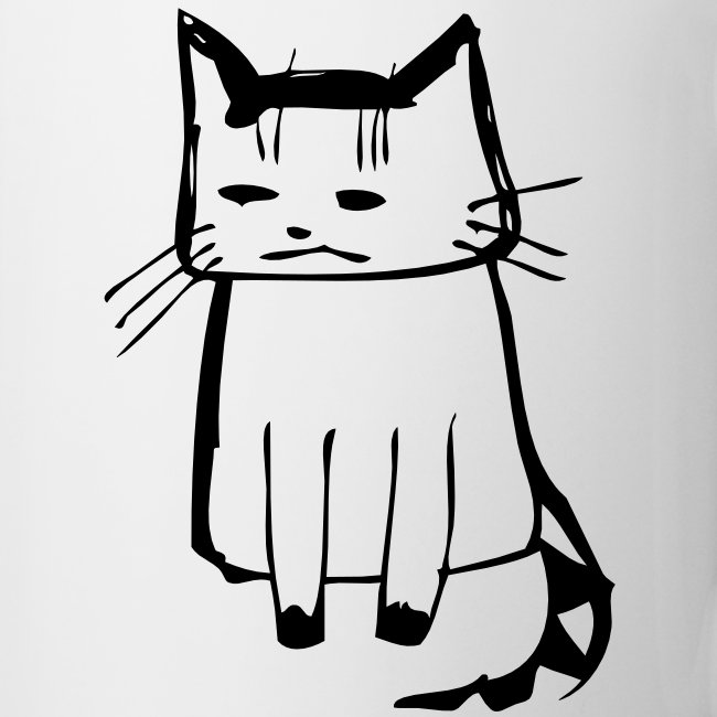 cat drawings on t shirt