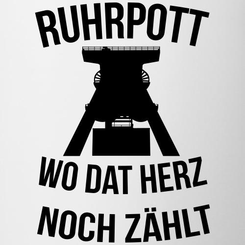 Ruhrpott - Wo dat Herz noch zählt - Tasse