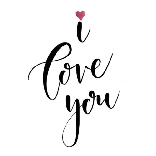 I love you - Tasse