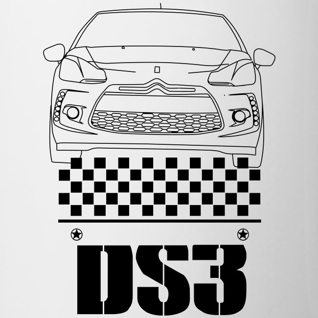 DS3-Zeichnung Flaschen & Tassen