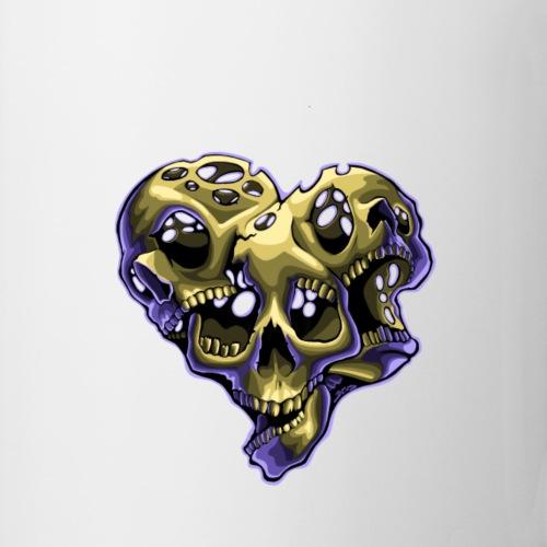skulls - Mug blanc