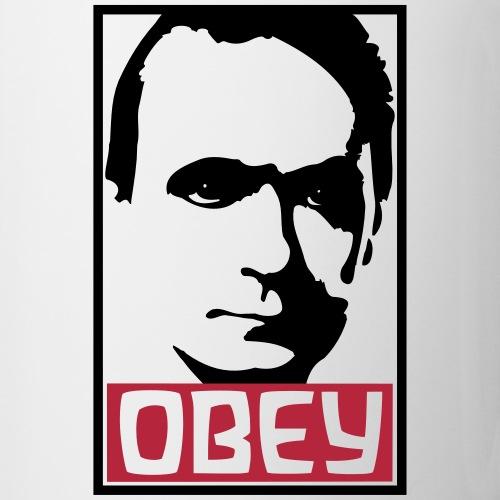 OBEY Rudolf Steiner - Tasse