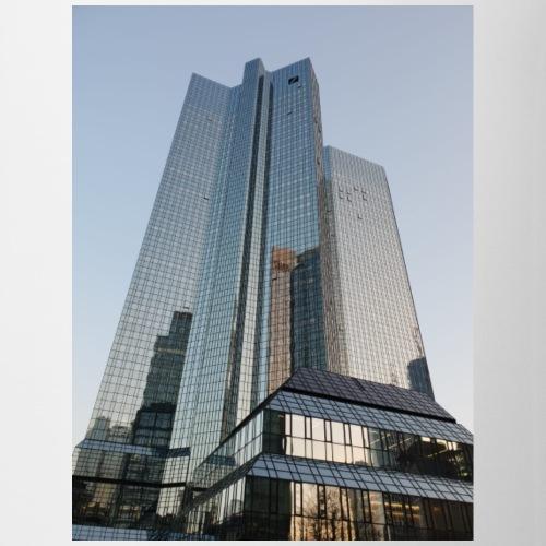 Deutsche Bank bei Sonnenaufgang - Tasse