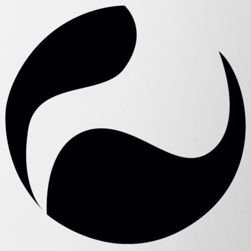 DEEPINSIDE logo ball black - Mug