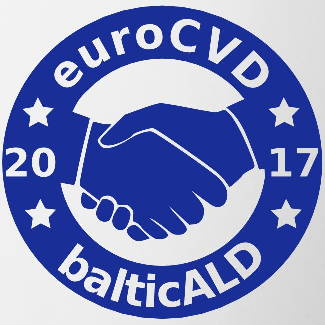 Joint EuroCVD - BalticALD conference mens t-shirt