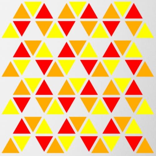 pattern of colour zigzag - Mug