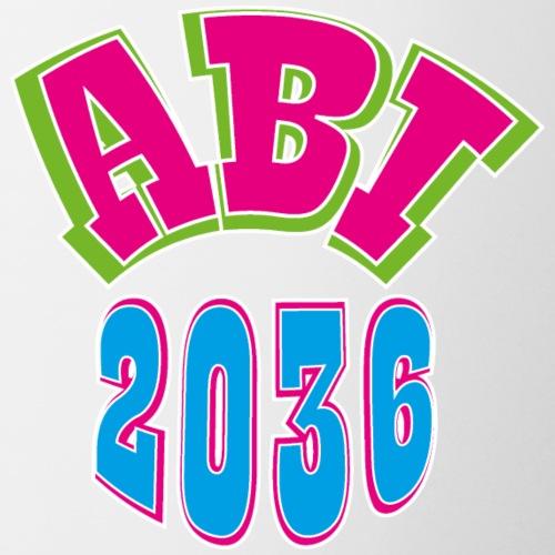 Abi 2036 T-shirt - Geschenk für Neugeborene - Tasse