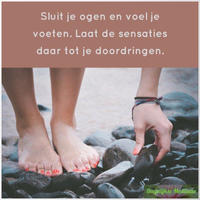 Voel je voeten