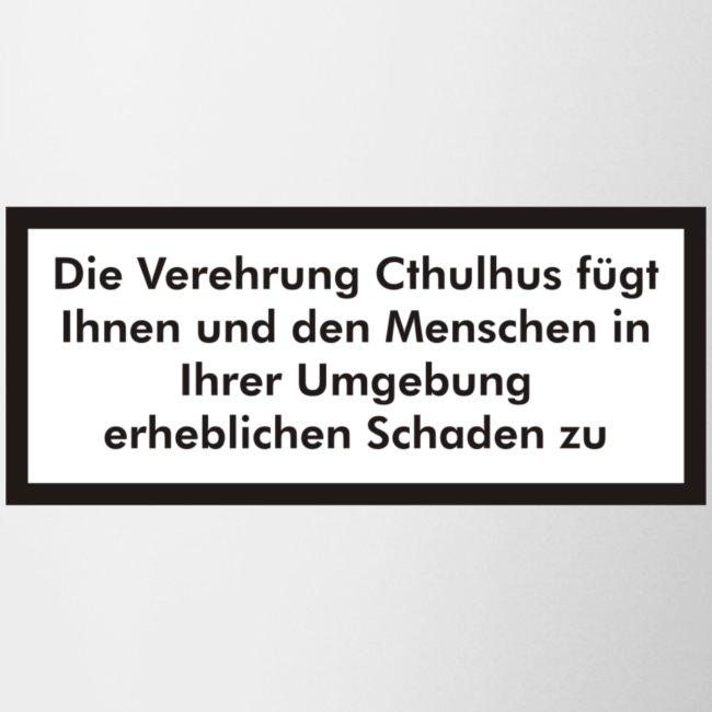Die Verehrung Cthulhus fügt Schaden zu Vk001F
