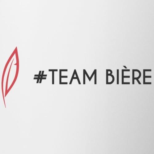 Logo - Team bière - Mug blanc