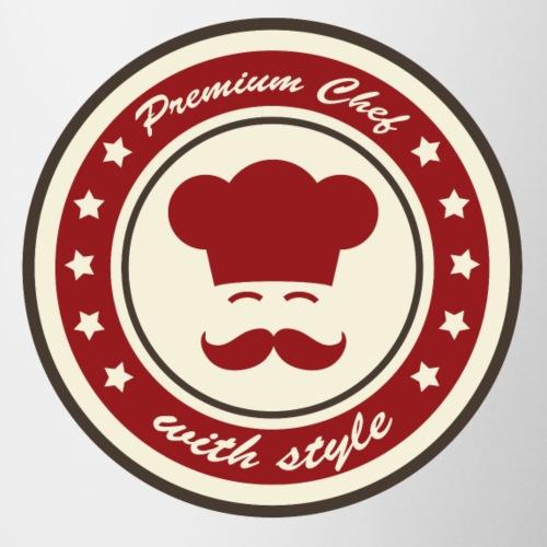 Premium Chef With Style Moustache - Mug