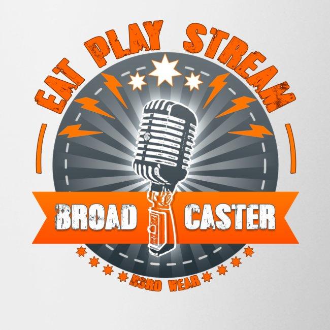 Eat Play Stream Tasse