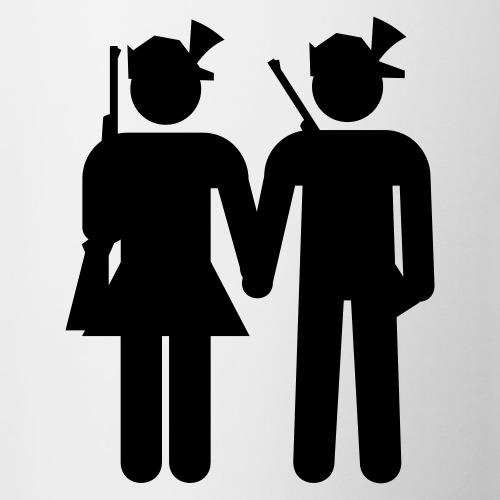 Jägerpaar - Tasse