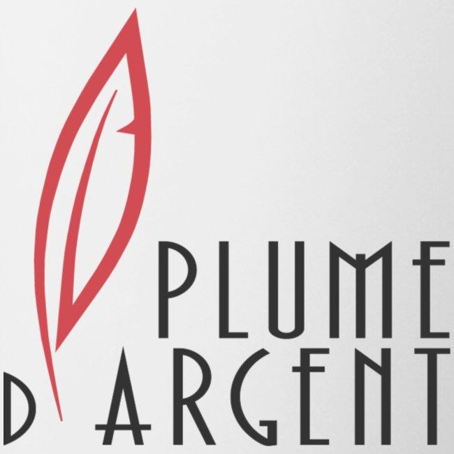 Logo - Texte plume