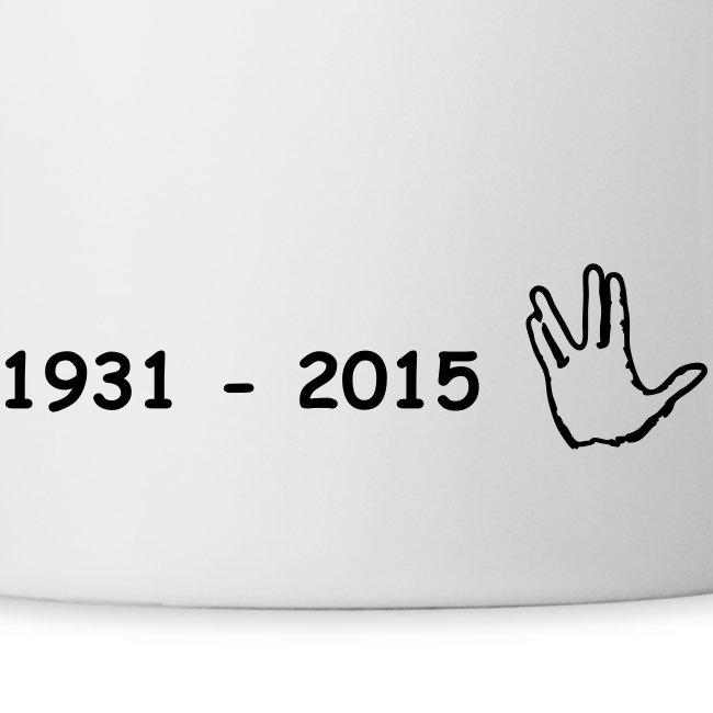 Leonard Nimoy in gedenken