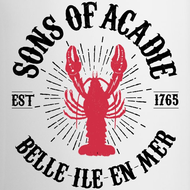Sons of Acadie Homard Rouge et Noir