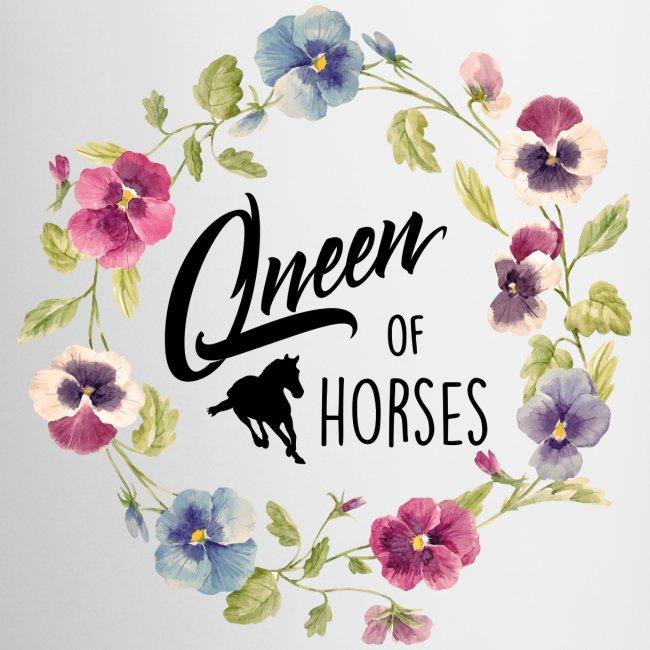 Vorschau: queen of horses - Tasse