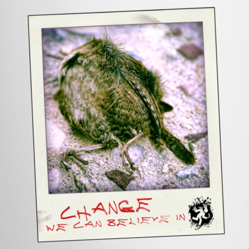 POLAROID change - Mug blanc