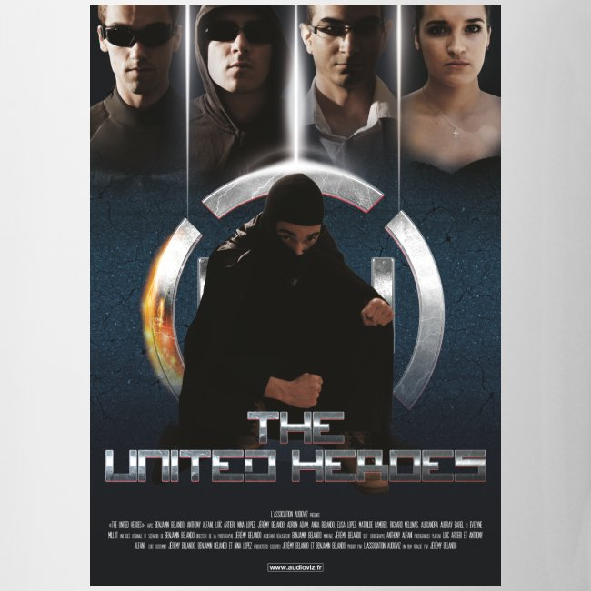 affiche United Heroes
