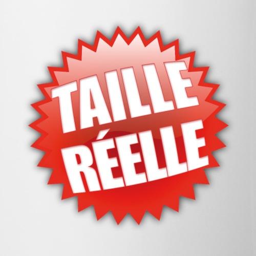TAILLE REELLE - Mug blanc