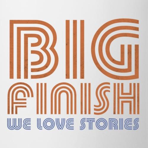 Retro Big Finish Logo (front and back) - Mug